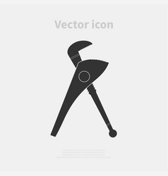 caliper icon vector image vector image