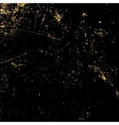 light grunge gold black vector image