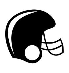 american football helmet icon image vector image