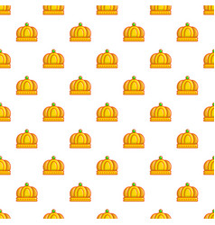 imperial crown pattern seamless vector image