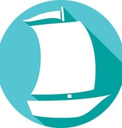Ship Icon vector image vector image