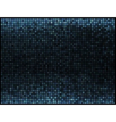 Multicolor abstract lights blue disco background vector image