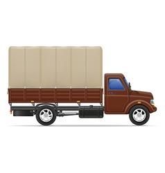 cargo truck 03 vector image vector image