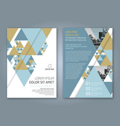 Cover annual report 1157 vector