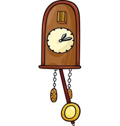 Cuckoo clock clip art cartoon vector