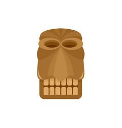 Hawaii traditional idol icon flat style vector