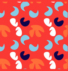 kids abstract seamless pattern vector image