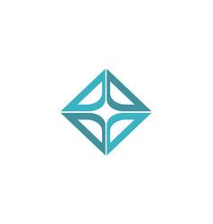 square shape logo vector image