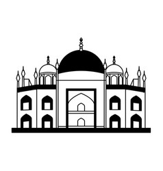 Vatican cathedral isolated icon vector