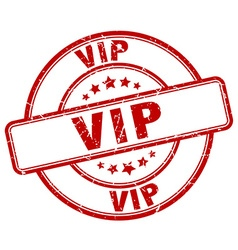 vip stamp vector image