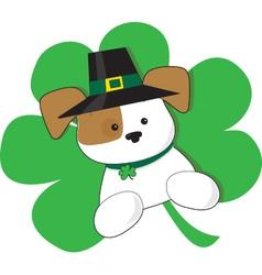 Irish Puppy vector image vector image