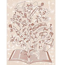 magic book vector image