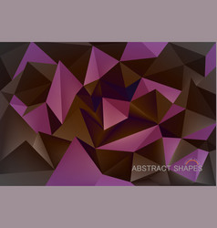 abstract shapes color vector image