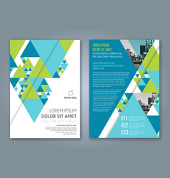 Cover annual report 1162 vector