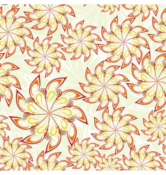 Floral Seamless vector image vector image