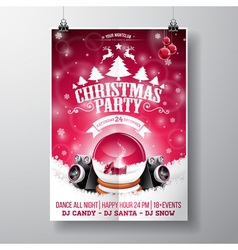 Graphic 157 christmasparty 12 vector image
