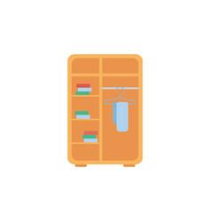 Isolated closet icon flat design vector