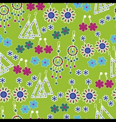 Jewelry seamless pattern vector