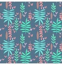 Seamless nature background vector image