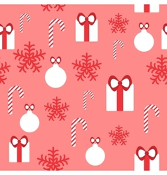 Seamless pattern for Christmas design vector image
