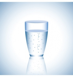 water bubbles vector image vector image