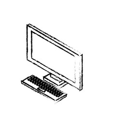 Figure technology computer to social information vector