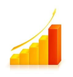 Graph Search icon vector image