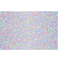 abstract bright rainbow square dotted background vector image