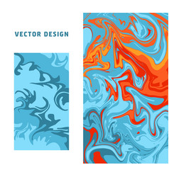 abstract colorful minimal artistic neon vector image