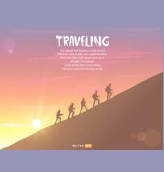 Climbing background vector