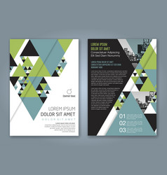 Cover annual report 1167 vector
