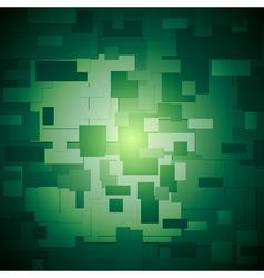 Dark green elegant background vector image