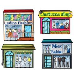 Fashion Shop vector image