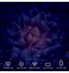 Geometric Dark Background vector