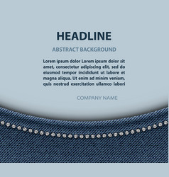 Jeans arch design vector
