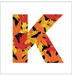 K Letter vector