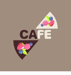 Logo for cafe vector