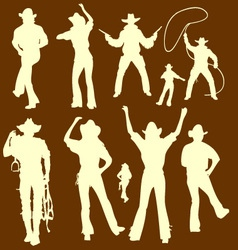 CowBoys 1 vector image