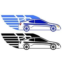 Passenger car vector image vector image