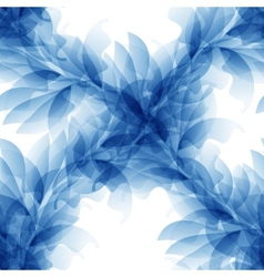 Seamless Tender background with blue abstract vector image vector image