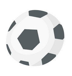 soccer ball cartoon vector image vector image