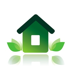 eco home 1 vector image vector image