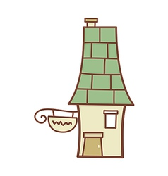 A house vector