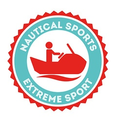 extreme sport vector image