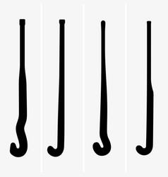 Field hockey sticks vector