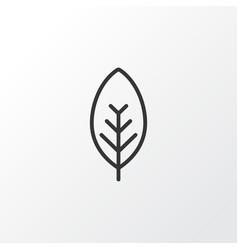 foliage icon symbol premium quality isolated tree vector image vector image