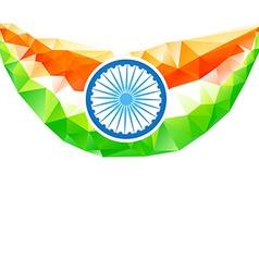 indian flag art vector image