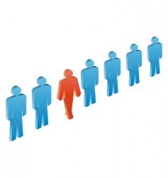 leader vector image