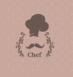 Logo chef vector