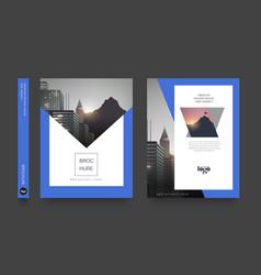 modern poster flyer pamphlet brochure cover vector image